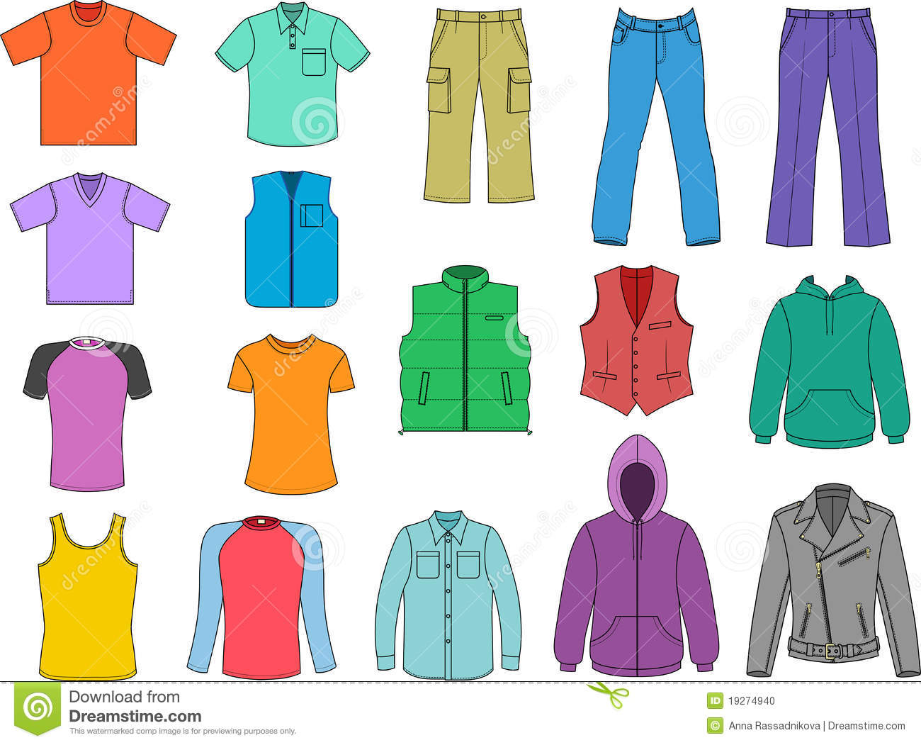 Clipart clothes kids.