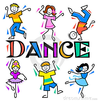 free clipart kids dancing #14