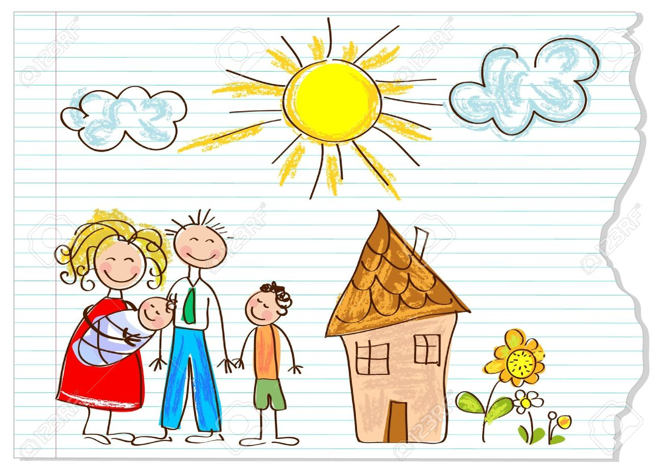 Child Drawing Clipart
