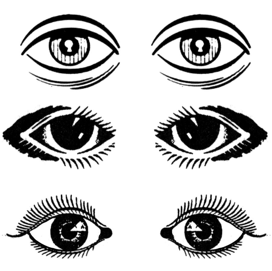 Clipart picture of eye.