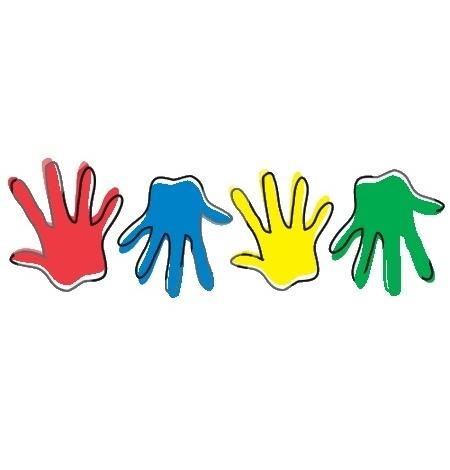 Kids hand clipart.