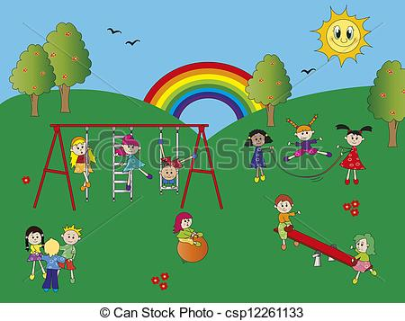Playground Illustrations and Clip Art. 13,203 Playground royalty.