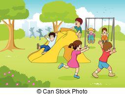 Children's playground clipart - Clipground