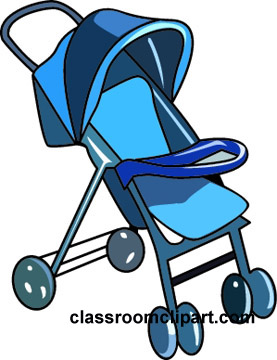 Pushchair clipart #8
