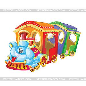 steam engine children's ride toy.