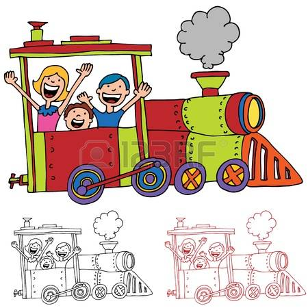 5,161 Kids Train Stock Illustrations, Cliparts And Royalty Free.