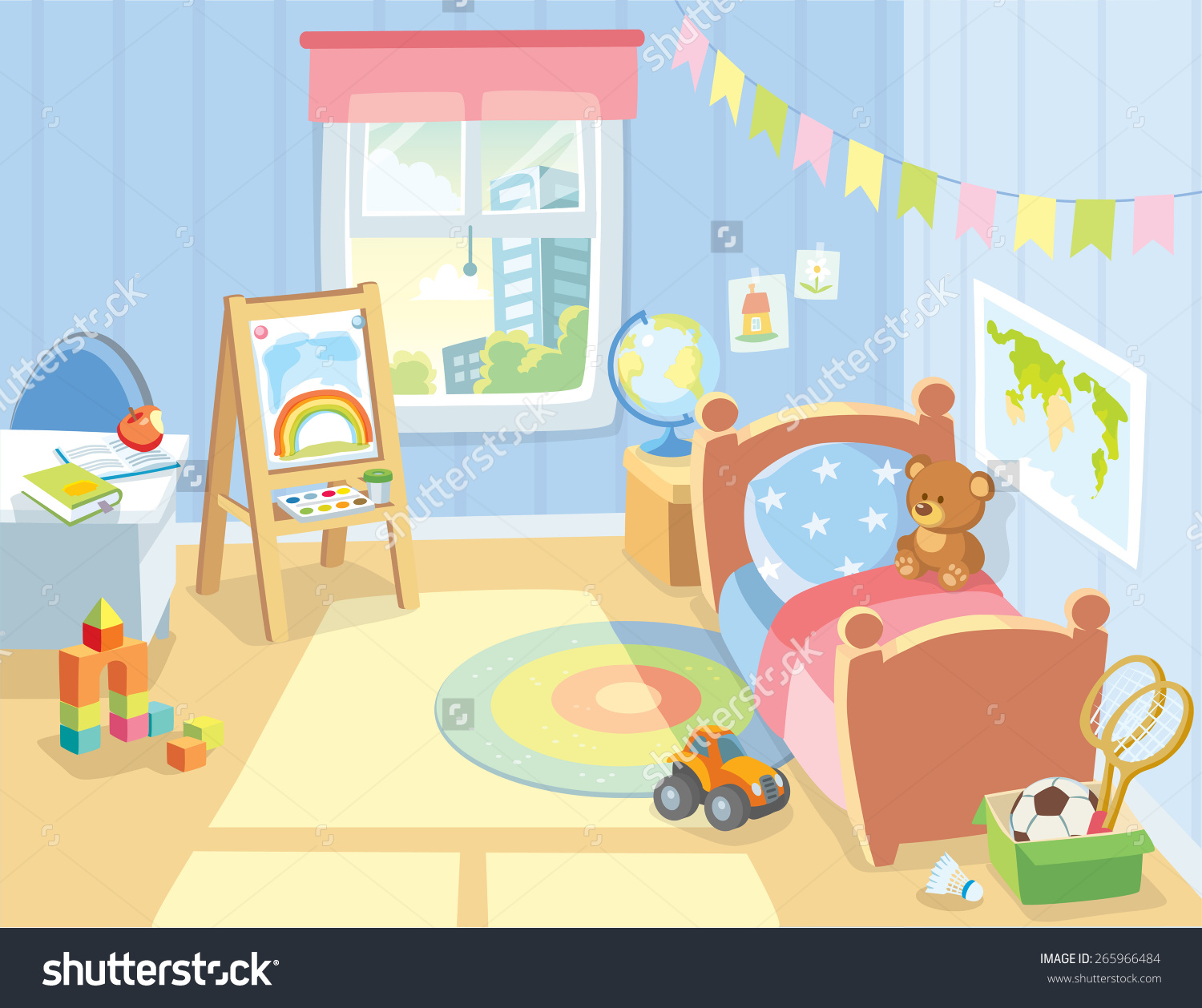 Children's room clipart - Clipground