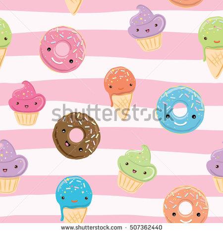 Cupcake Vector Stock Photos, Royalty.