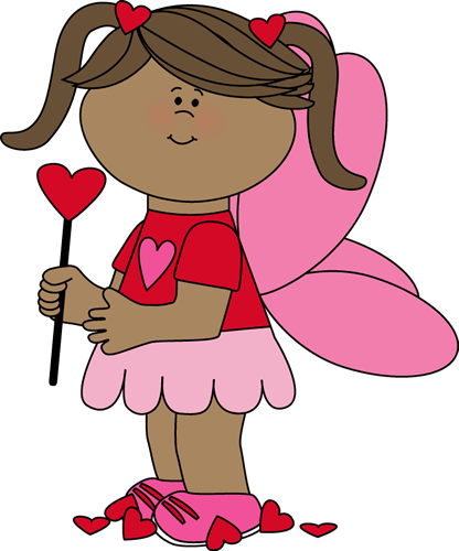 Cute Valentines Clipart Kids.