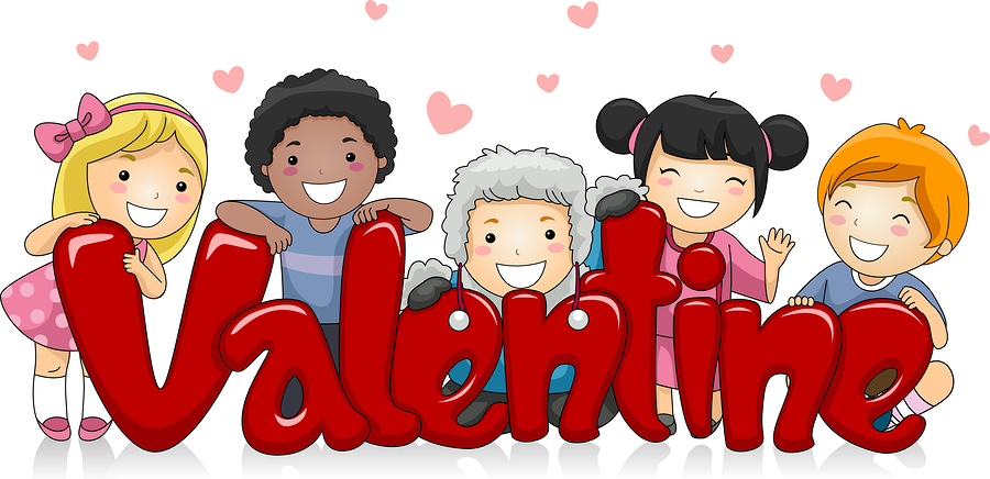 Happy Valentines Day Clipart Kids.