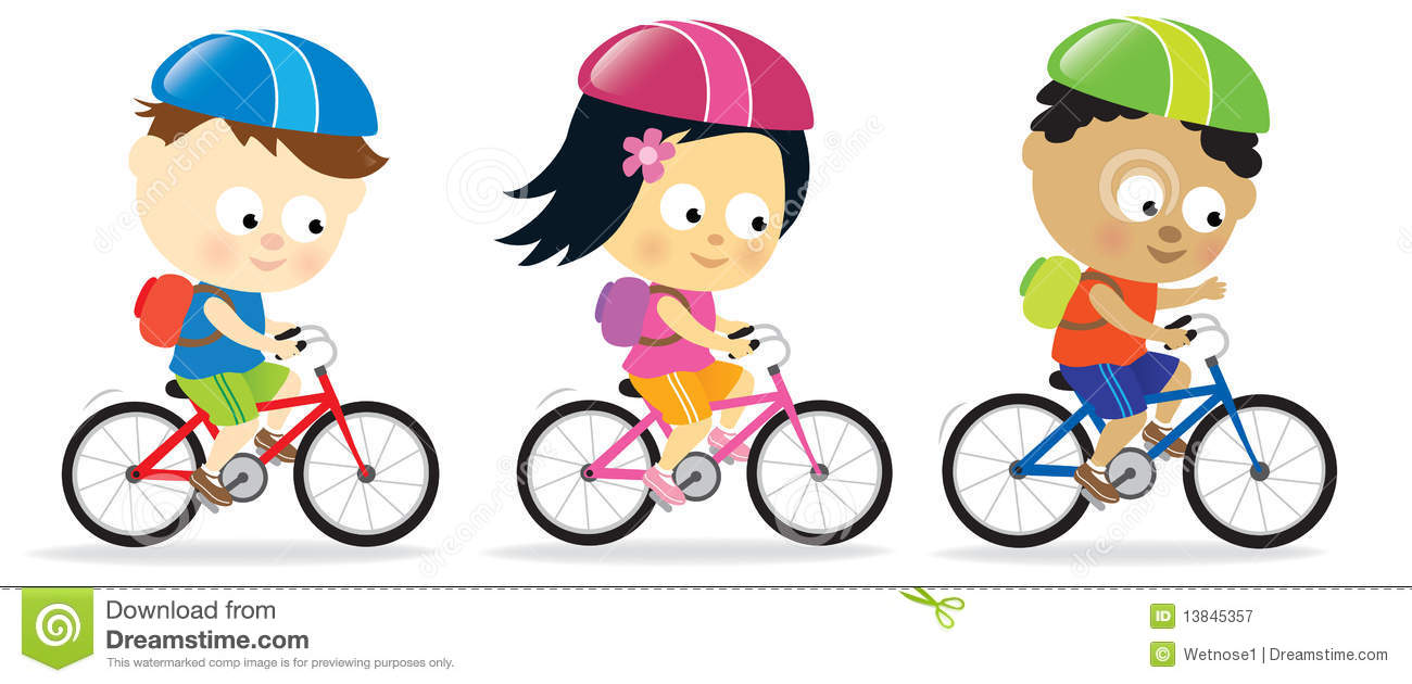 Childs bike free clipart.