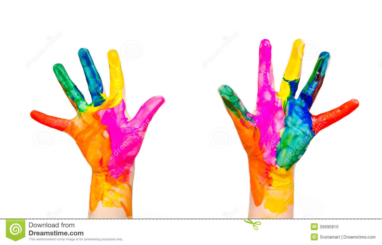 Child's Hands Clipart