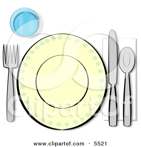 Image Gallery of Child Setting The Table Clipart.