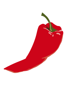 Chili pepper clipart #16
