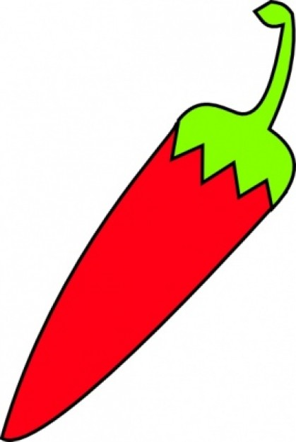 Chillies clipart #14
