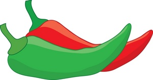 Chili pepper clipart #7
