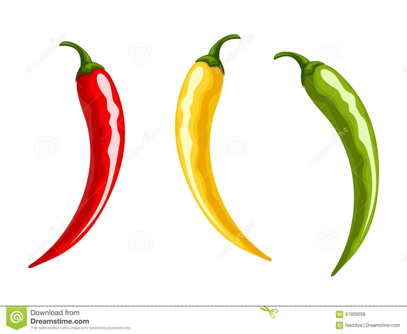Hot Chili Peppers Clip Art Stock Photos, Images, & Pictures.
