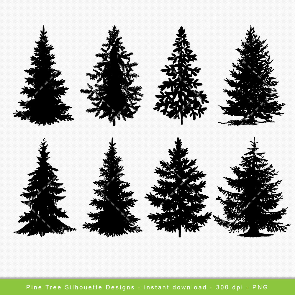 pines woods background clipart outline - Clipground