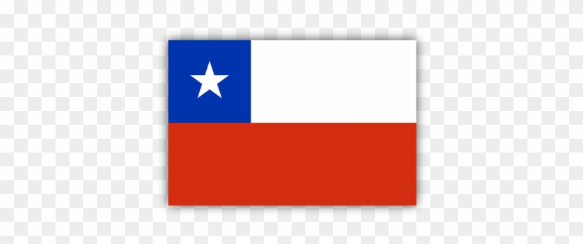 Chile Flag Bumper Sticker.