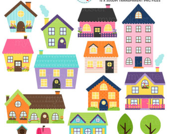 cute house clipart.