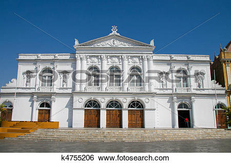 Stock Images of Opera House in Iquique, Chile k4755206.