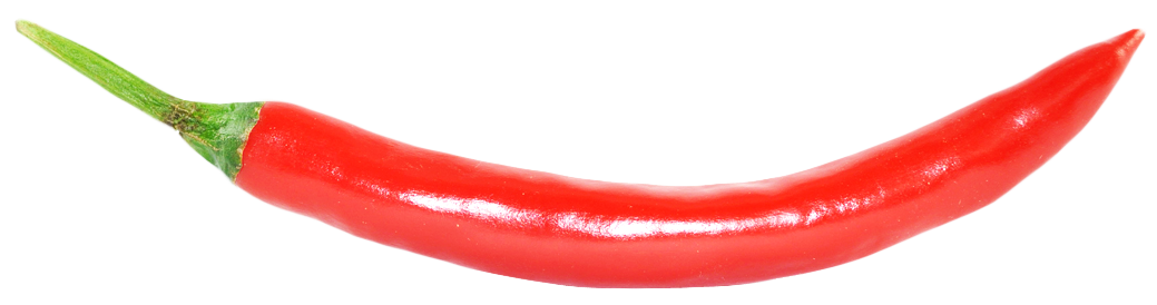 Red Hot Chili Pepper PNG image.