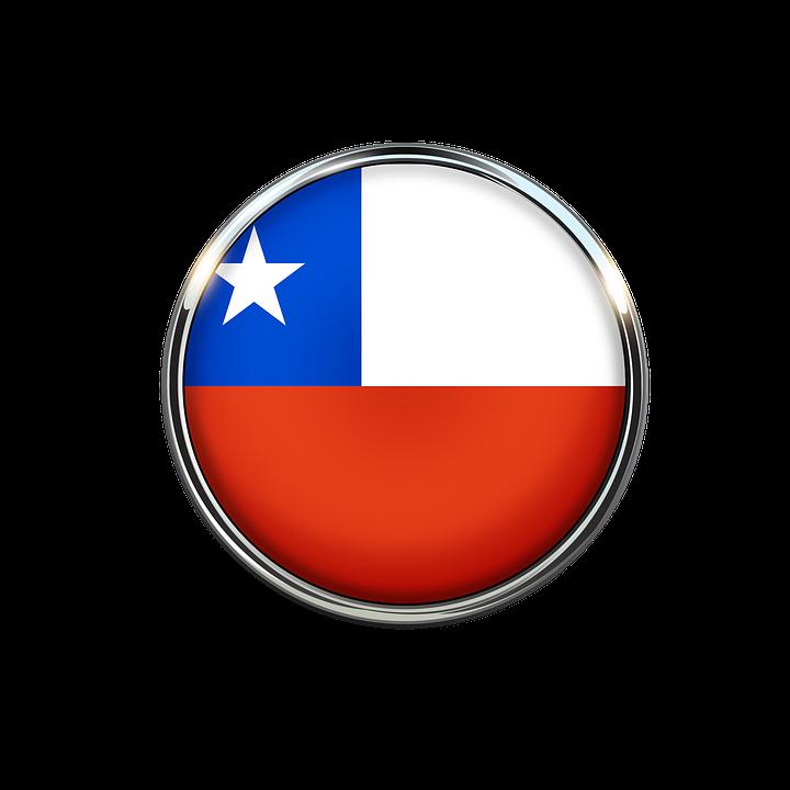 Chile Flag Chilean Blue.