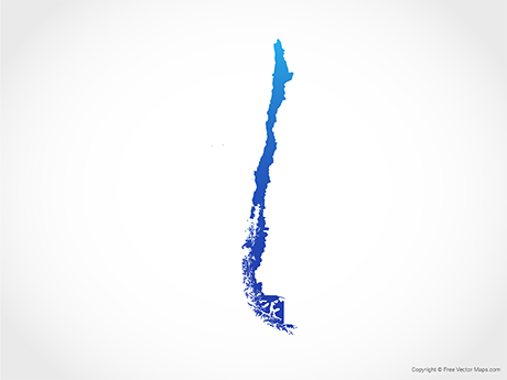 Vector Maps of Chile.