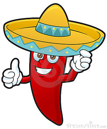 Mexican Chiles Clipart.