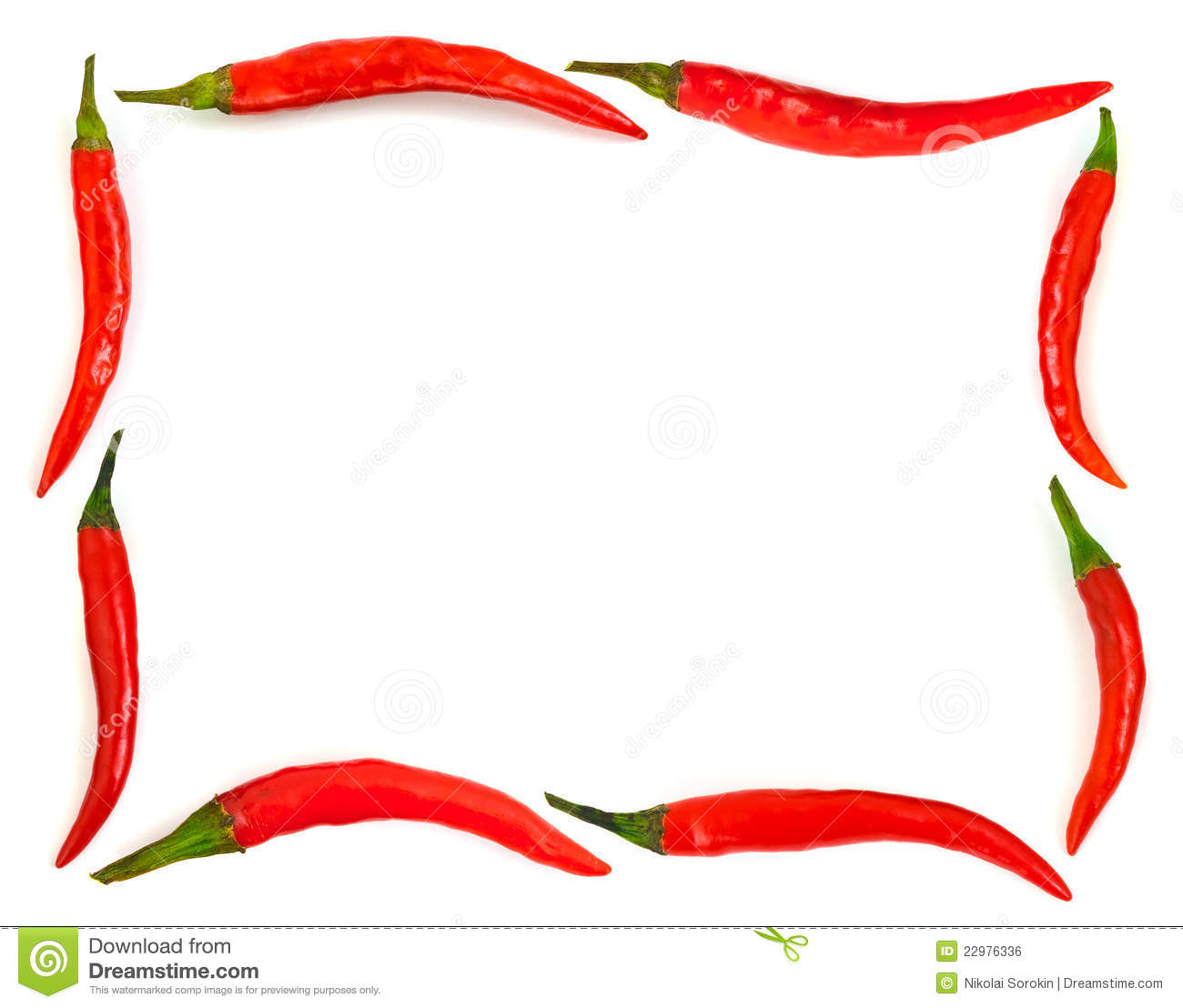 Chili Pepper Border Free Download Clip Art.