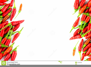 Clipart Chili Peppers Border.