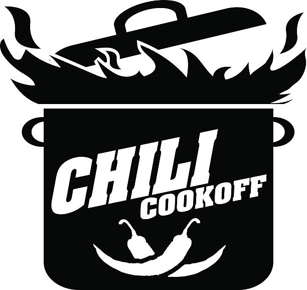 Chili Cook Off Clipart Black And White.
