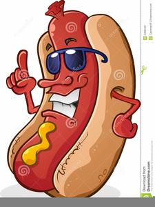Bbq Hot Dog Clipart.