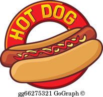 Hot Dog Clip Art.