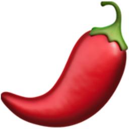 Hot Pepper Emoji (U+1F336).