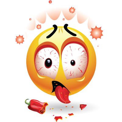 Chili Pepper Smiley.