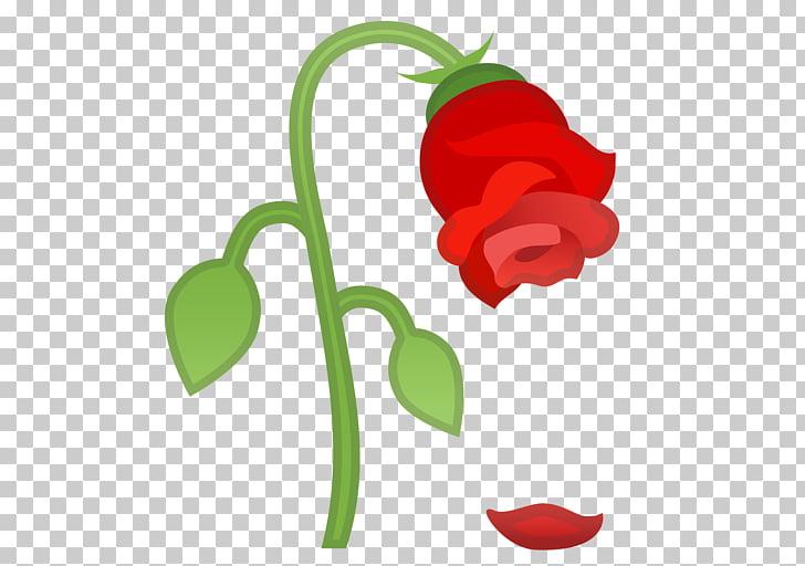Emojipedia iPhone Sticker Rose, Emoji PNG clipart.