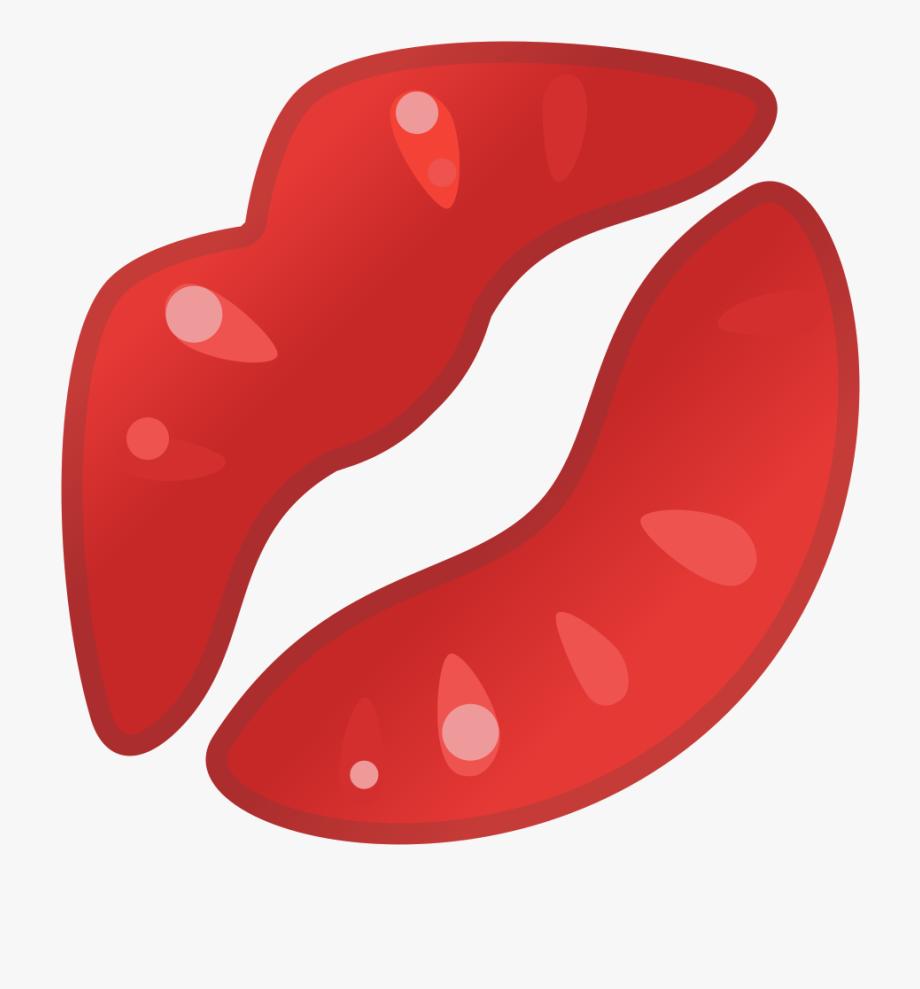 Kiss Clipart Icon.