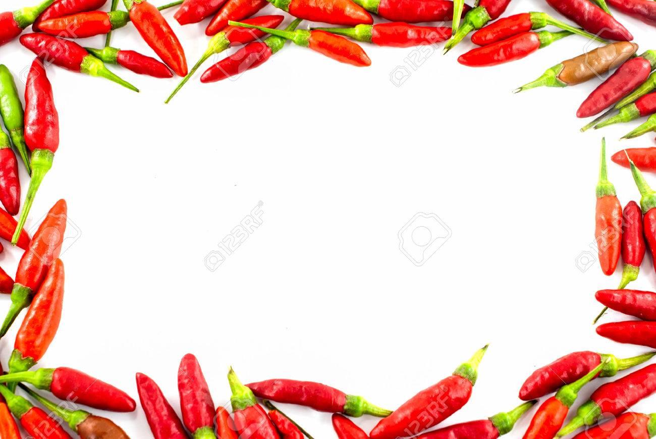 Chili Pepper Border Free Download Clip Art.