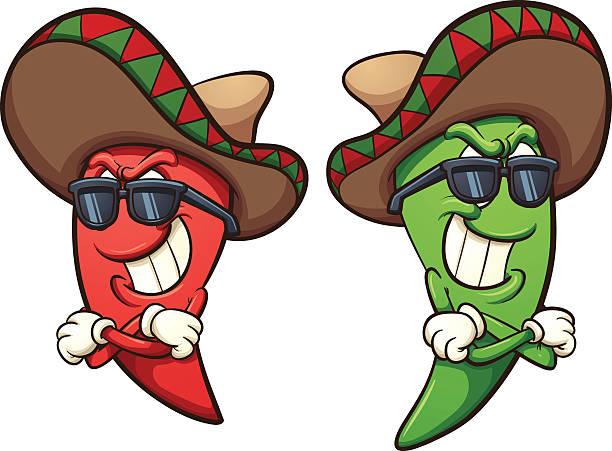 410 Chili Pepper free clipart.