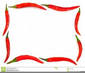 Mexican Chili Pepper Clipart.