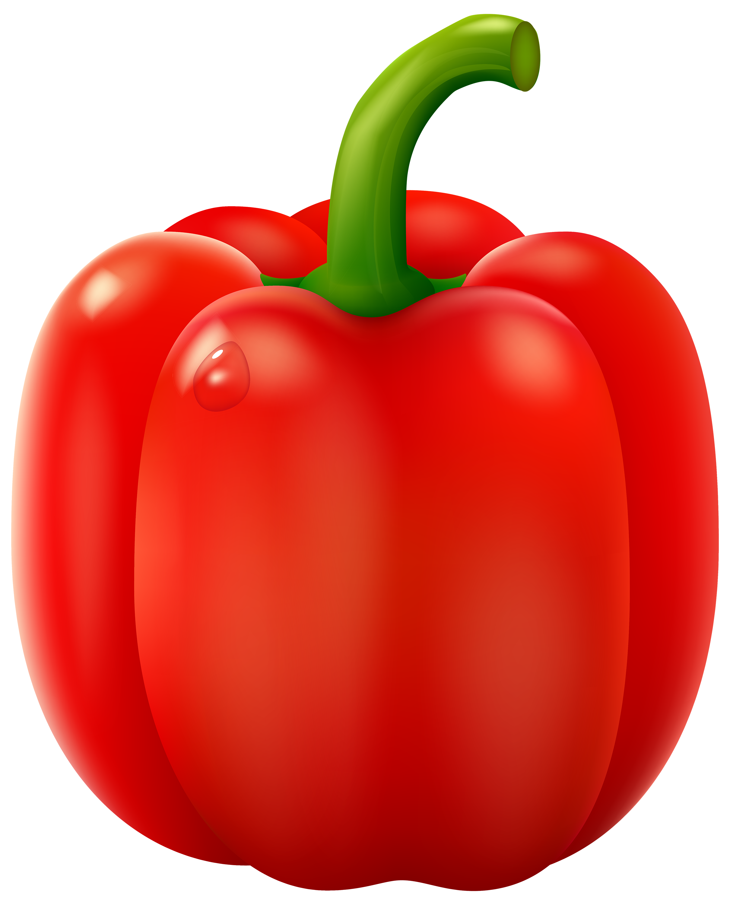 Red Pepper PNG Clipart.