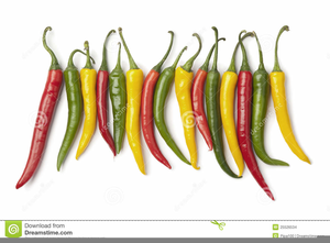 Red Chili Peppers Clipart.
