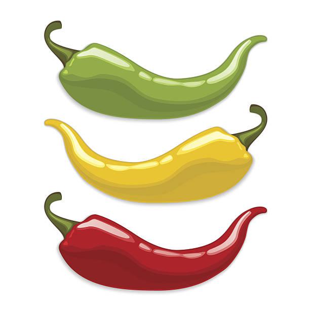 Best Green Chili Pepper Illustrations, Royalty.