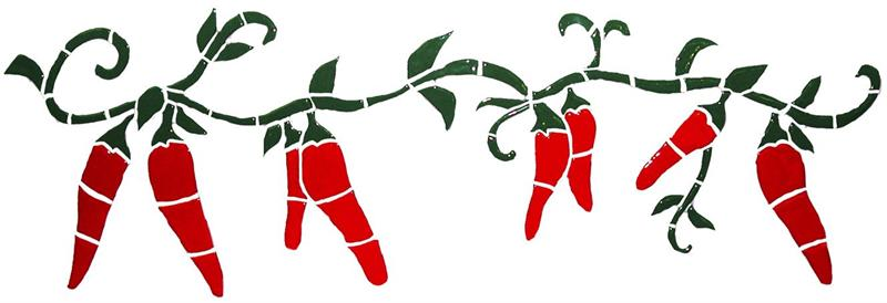 Red Chili Pepper Christmas Lights