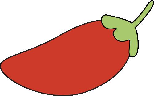 Chili pepper clip art.