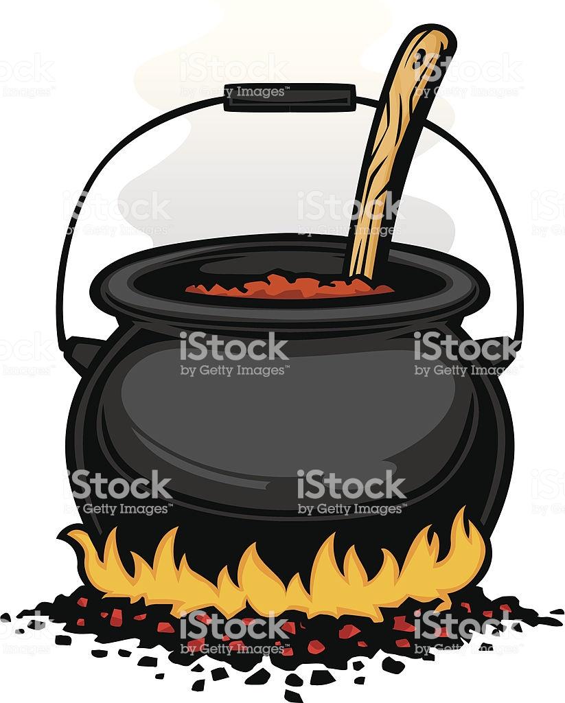 Chili pot graphic » Clipart Station.