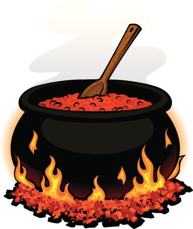 Chili Pot Clipart.