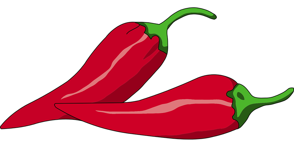Free vector graphic: Pepper, Chili, Red, Hot, Vegetable.