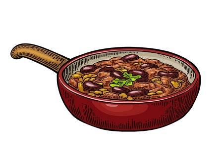 Chili Soup Cliparts.